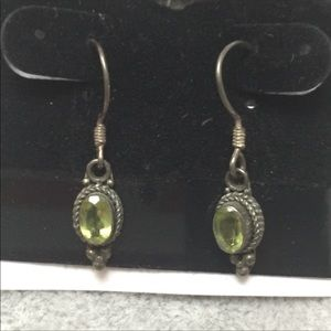 Jewelry - 2 or more 50% off Silver and Peridot earrings